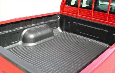 Proform under rail bed liners on a single cab pickup