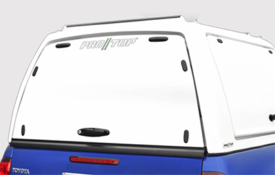 Pro//Top low roof gullwing truck top solid rear door