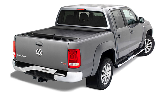 Roll 'N' Lock tonneau cover on a VW Amarok