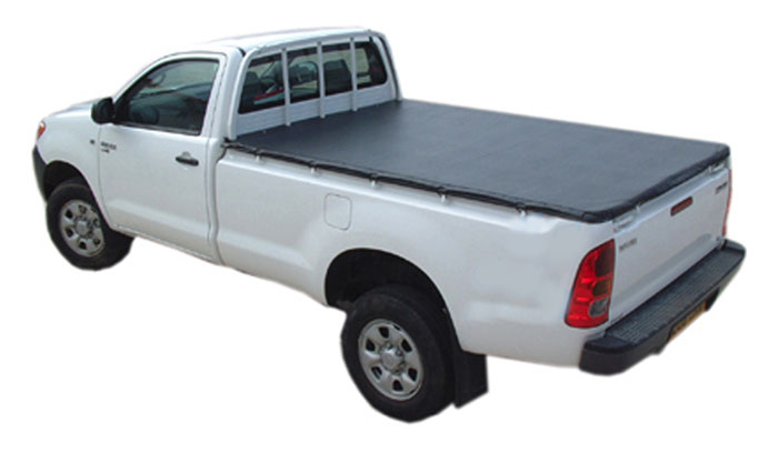 Taught Soft tri folding tonneau cover