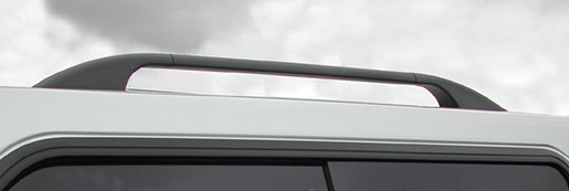 Roof Bars fitted to a truck top