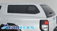 Aeroklas hard top range of canopies