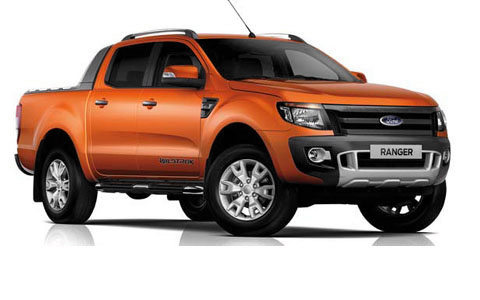 Ford Ranger Double Cab 2012 to 2016 accessories