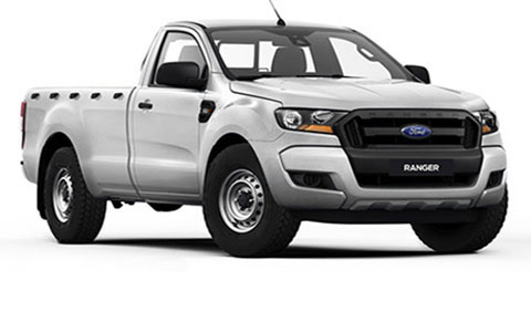Ford Ranger Facelift Regular Cab 2016-2019 Accessories