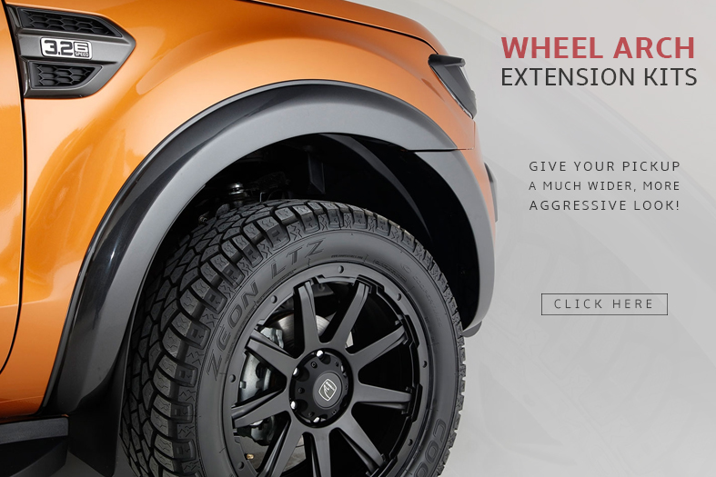 Wheel Arch Extension Kits
