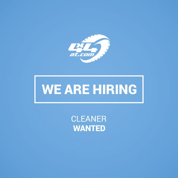 Cleaner Vacancy - Blog Post