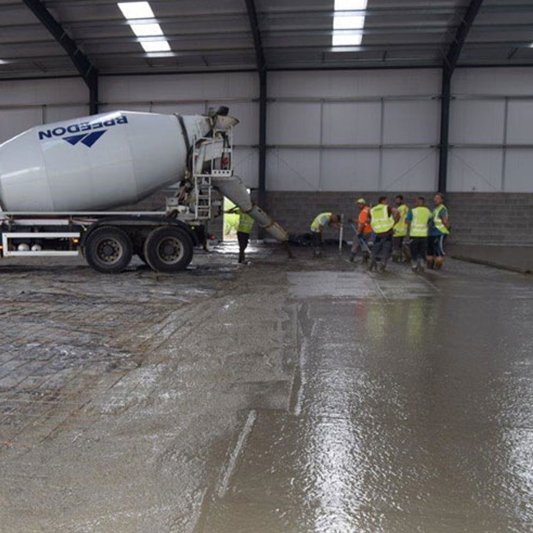 Concrete flooring is going in the new warehouse - Blog Post