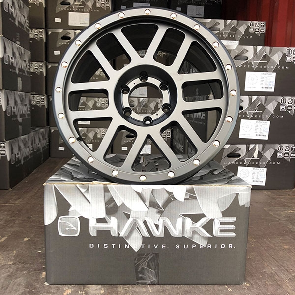 Hawke Dakar delivery to 4x4AT