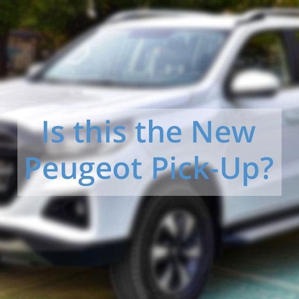 Peugeot Pickup Blog Post