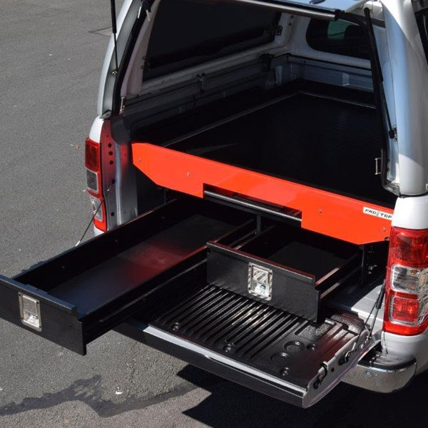 Pro//Top Load Bed drawer system