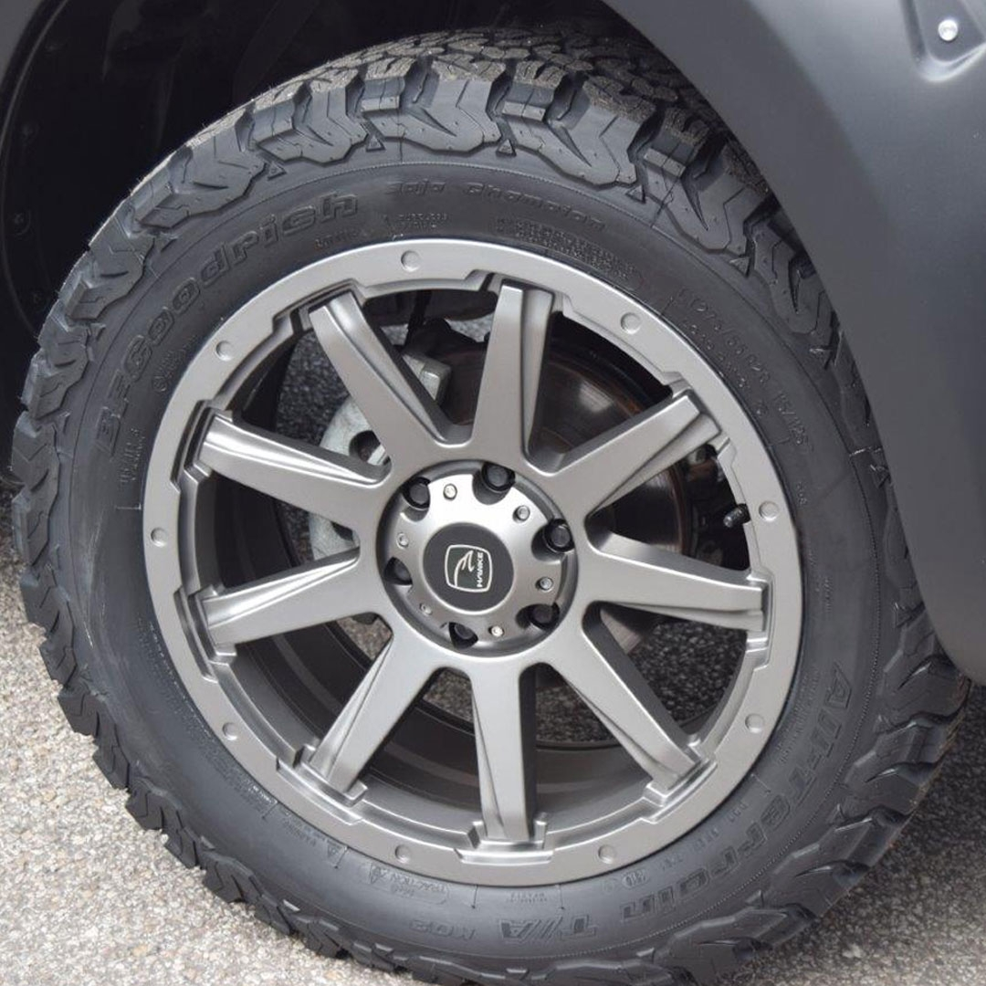 Gun Metal Finish Alloy Wheels - Blog Post