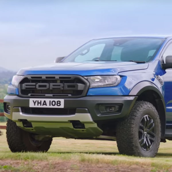 Richard Hammond New Ford Ranger Raptor