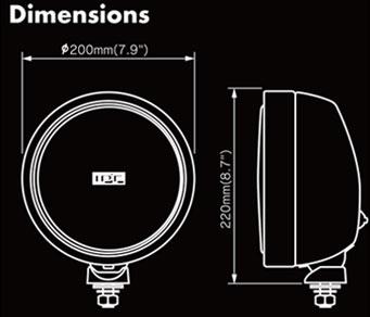 IPF 900 Dimensions