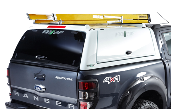Pro//Top Hard Top Glass Rear Door Option