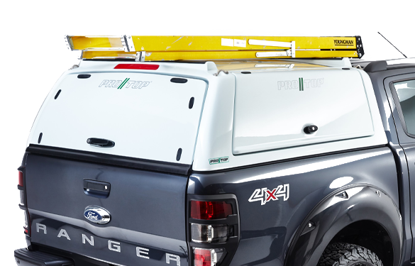 Pro//Top Hard Top Solid Rear Door Option