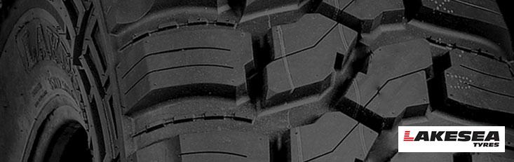 Rodadura de neumático de terreno de barro de cocodrilo Lakesea