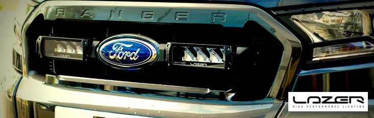 Lazer Lights Triple R-4 Grille Integration