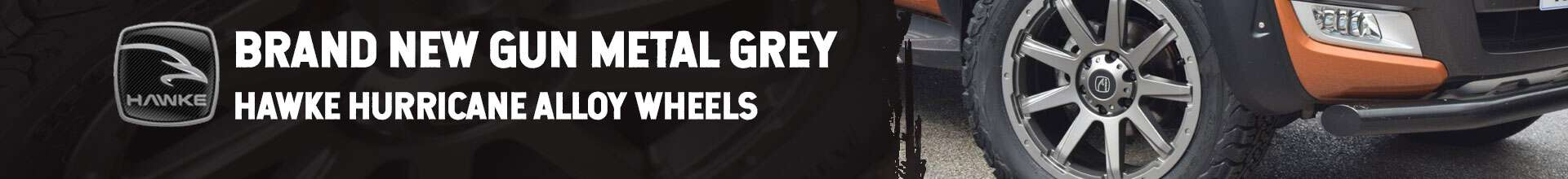 New Gun Metal Grey Alloy Wheels