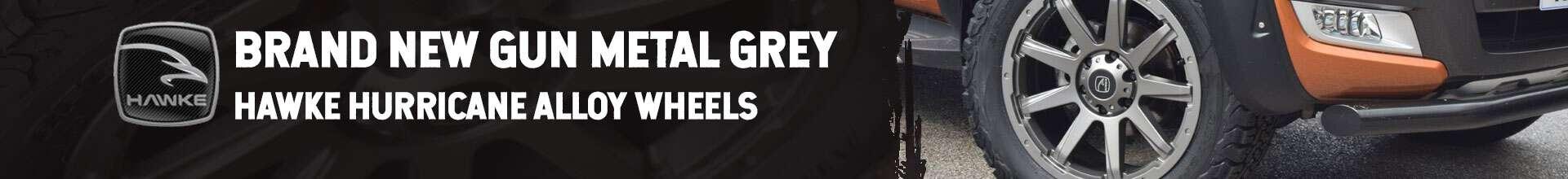 New Gun Metal Grey Alloy Wheels