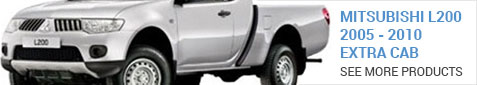 Mitsubishi L200 Extra Cab 2005-2011 - More Products