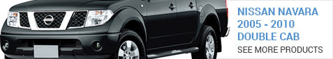 Nissan Navara Double Cab 2005-2011 - More Products