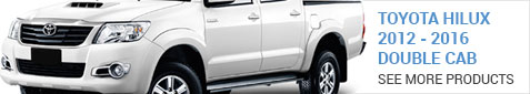 Toyota Hilux Double Cab 2009-2012 - More Products